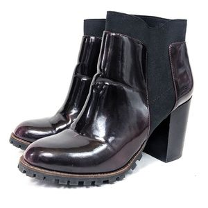 Steve Madden 90s Inspired Combat Heeled Boots 10